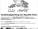 Konzert zum Unabhängigkeitstag der Republik Polen 11.11.2011